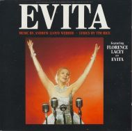 Andrew Lloyd Webber / Tim Rice Featuring Florence Lacey - Evita (Highlights Of The Original Broadway-Production For World Tour 89/90) (CD;Album)