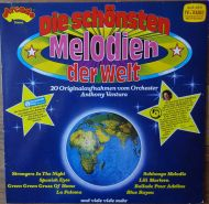 Orchester Anthony Ventura - Die Schönsten Melodien Der Welt (LP;Comp)