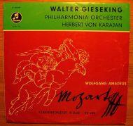 Wolfgang Amadeus Mozart;Walter Gieseking;Herbert Von Karajan;Philharmonia Orchestra - Klavierkonzert Nr. 23 In A-Dur KV 488 / Klavierkonzert Nr. 23 In A-Moll KV 488 (10