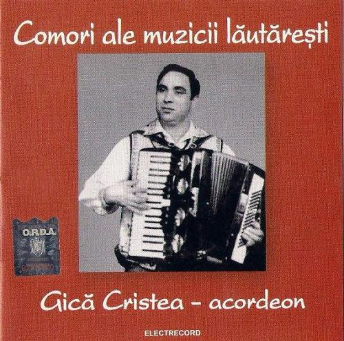 Gică Cristea - Acordeon (CD;Comp)