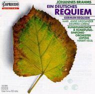 Johannes Brahms - Herbert Kegel - Rundfunk-Sinfonie-Orchester Leipzig - Ein Deutsches Requiem (CD)