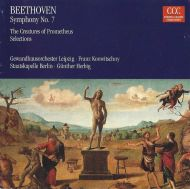Ludwig van Beethoven;Gewandhausorchester Leipzig;Franz Konwitschny / Staatskapelle Berlin;Günther Herbig - Symphony No. 7 / The Creatures of Prometheus Selections (CD;RM)