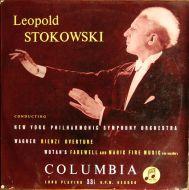 Richard Wagner;Leopold Stokowski;The New York Philharmonic Orchestra - Rienzi - Overture + Die Walkure (10