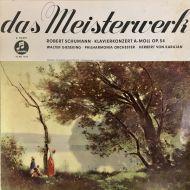 Walter Gieseking / Philharmonia Orchestra / Herbert Von Karajan / Robert Schumann - Concerto In A Minor;Op.54 (10