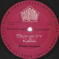 Unknown Artist - Die 8 Chörige Heimorgel Sonett De Luxe Melodie Beispiele (7