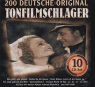 Various - 200 Deutsche Original Tonfilmschlager (10xCD;Comp + Box)