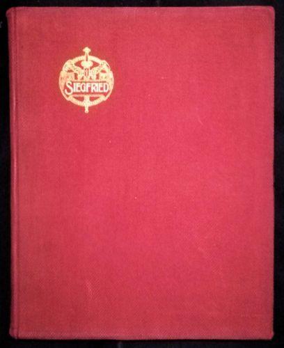 Richard Wagner - Siegfried (MUSICAL SCORE BOOK)