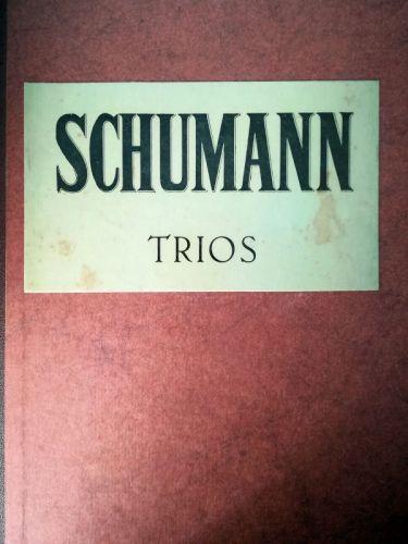 Schumann - Trios (MUSICAL SCORE BOOK)