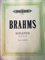 Brahms - Sonaten (MUSICAL SCORE BOOK)