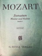 Mozart - Sonaten Klavier und Violine Band I (MUSICAL SCORE BOOK)