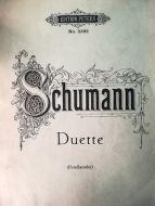 Schumann - Duette (MUSICAL SCORE BOOK)